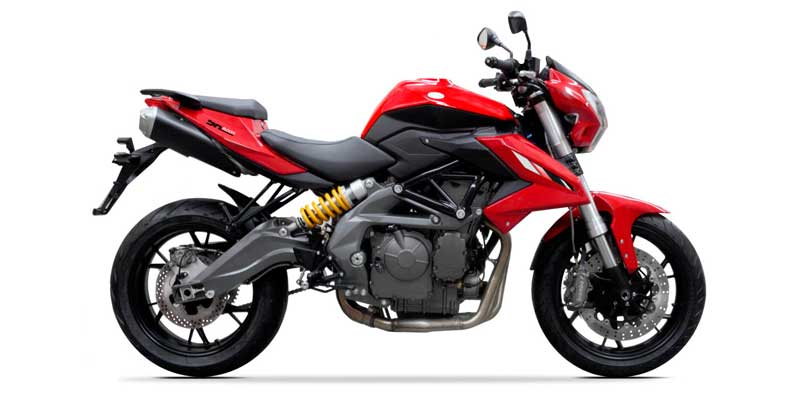 Benelli TNT 600i available colors
