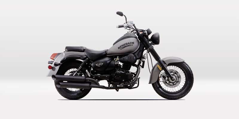 Um Motorcycles Renegade Commando Available Colors