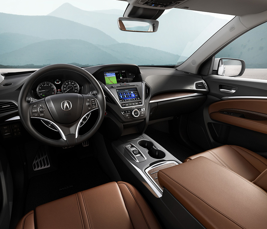 Acura Mdx 2017 Interior Image Gallery, Pictures, Photos