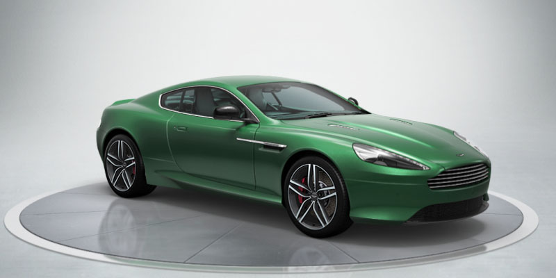 Aston Martin Db9 Coupe Available Colors