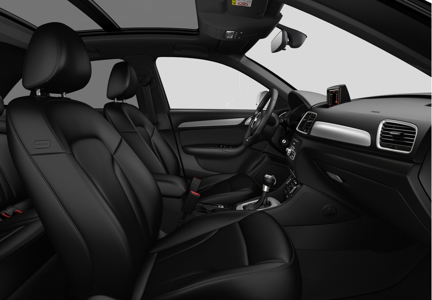 audi q3 premium plus 2018 interior image gallery pictures photos. Black Bedroom Furniture Sets. Home Design Ideas