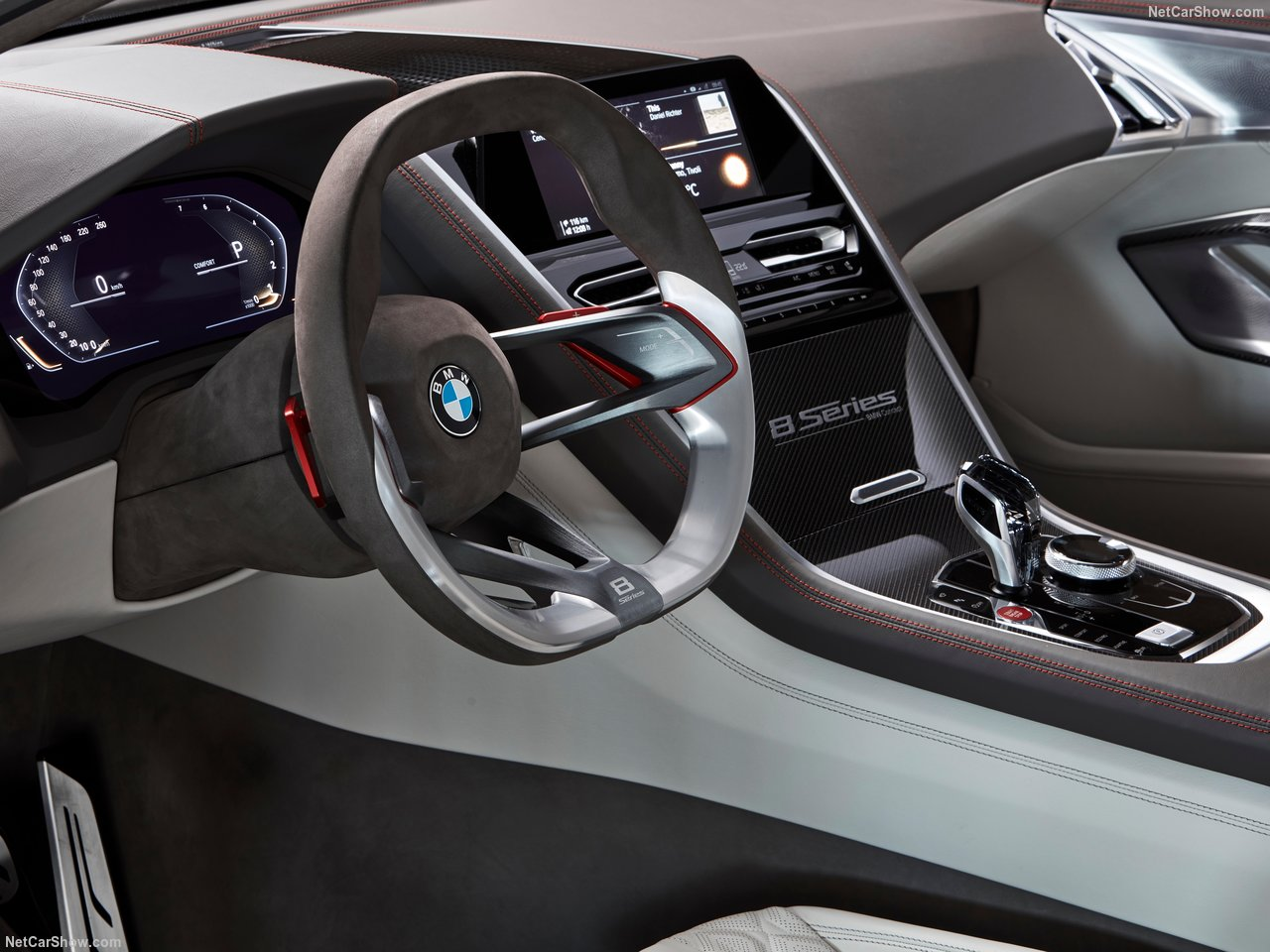 Bmw 8 series concept 2018 interior image gallery pictures for Bmw serie 3 2018 interior
