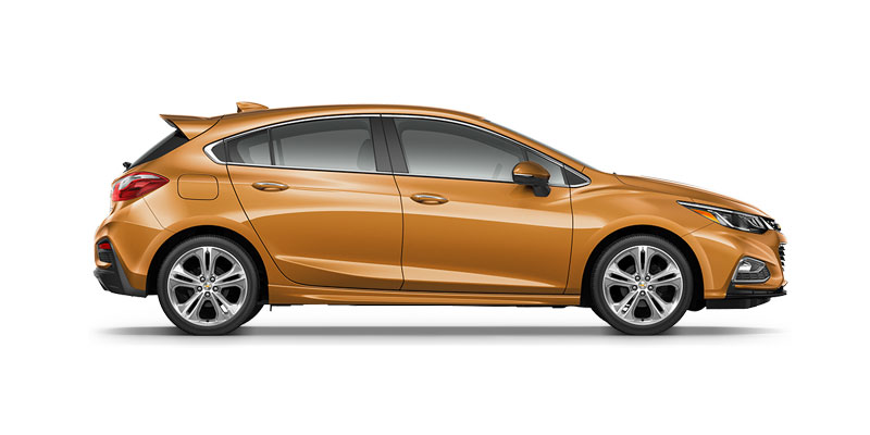 Chevrolet Cruze Hatchback L 2017 Available Colors