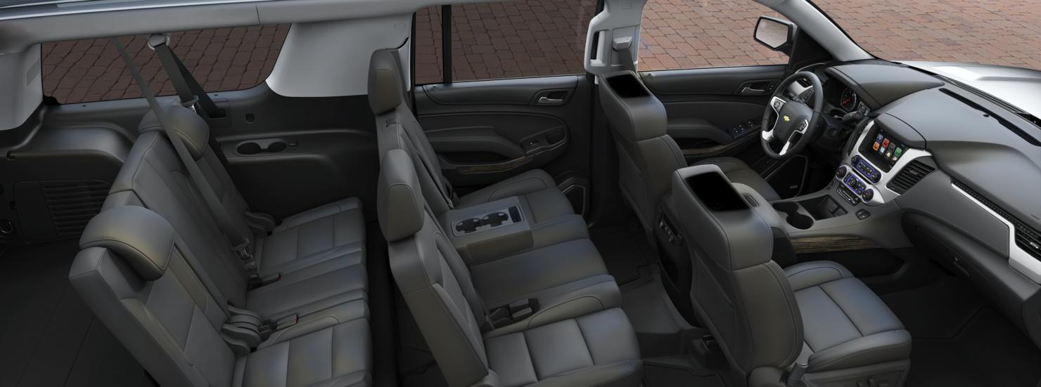 Chevrolet Suburban Lt 4wd 2016 Interior Image Gallery, Pictures, Photos