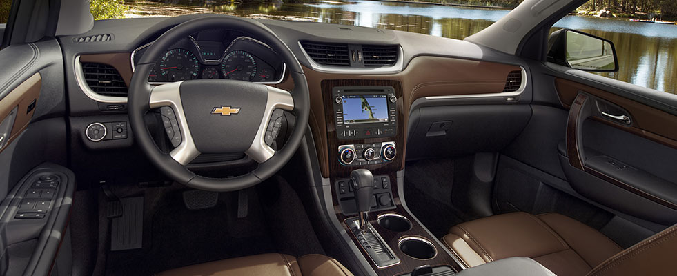 chevrolet traverse 2lt awd 2016 interior image gallery pictures photos. Black Bedroom Furniture Sets. Home Design Ideas
