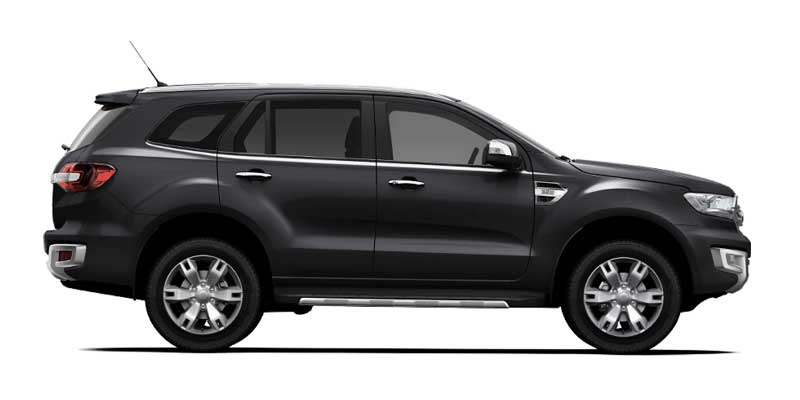 Ford Everest Cool White >> Ford Everest Ambiente Available Colors