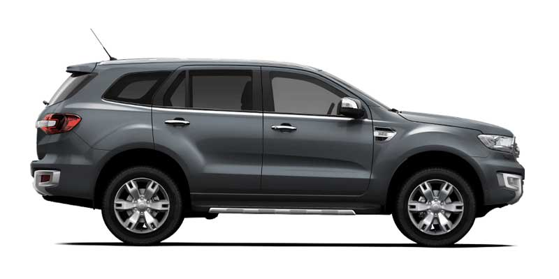 Ford Everest Cool White >> Ford Everest Trend Available Colors