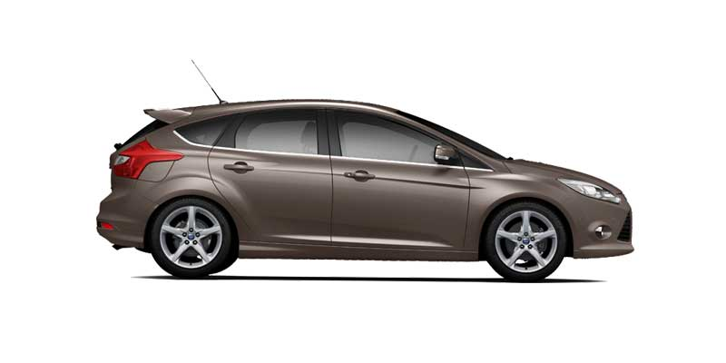 ford focus hatchback st available colors