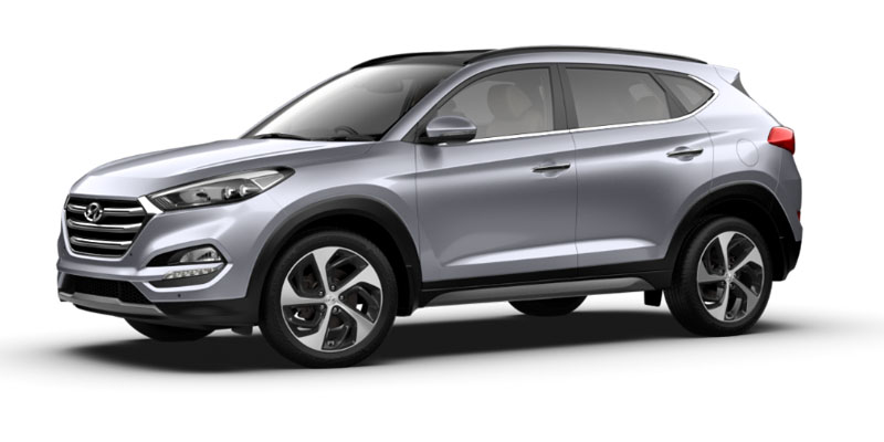 Hyundai Tucson Active Available Colors