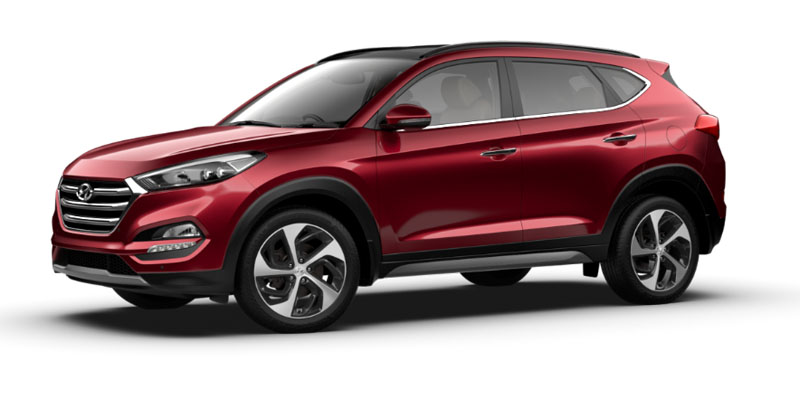 Hyundai Tucson Elite Available Colors