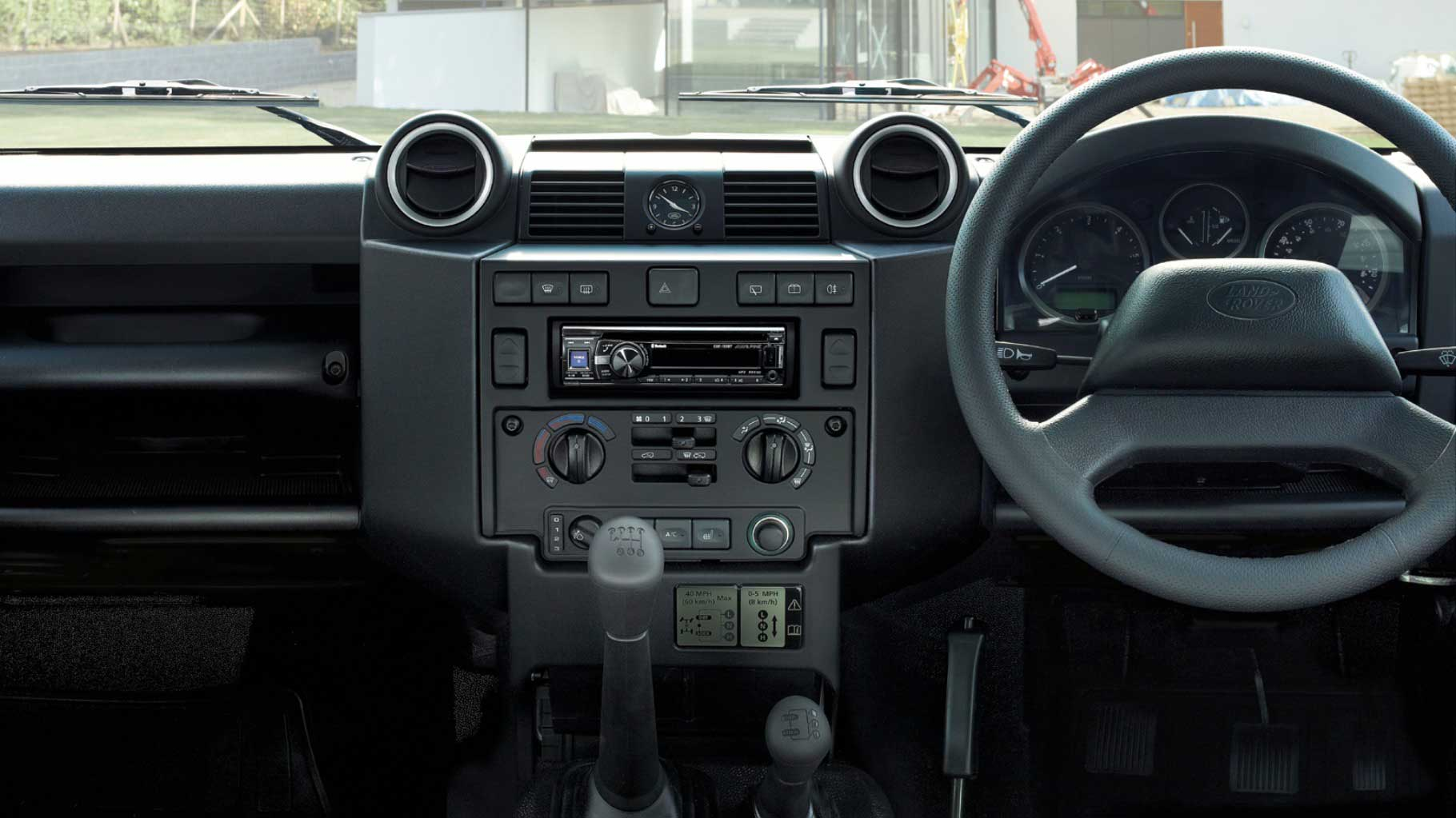 Land Rover Defender 110 Interior Image Gallery Pictures