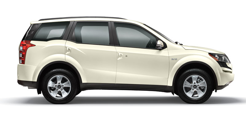 Gallery For > Mahindra Xuv 500 White