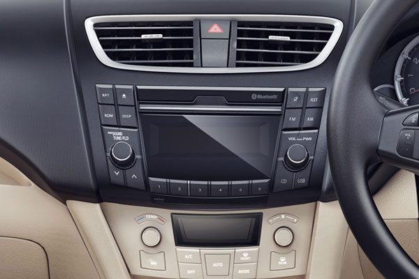 Maruti suzuki swift dzire vxi interior image gallery for Swift vxi o interior