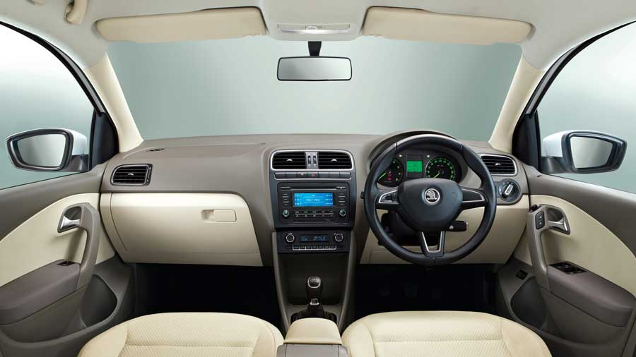 Skoda Rapid 1 5 Tdi Ambition Plus At Interior Image Gallery