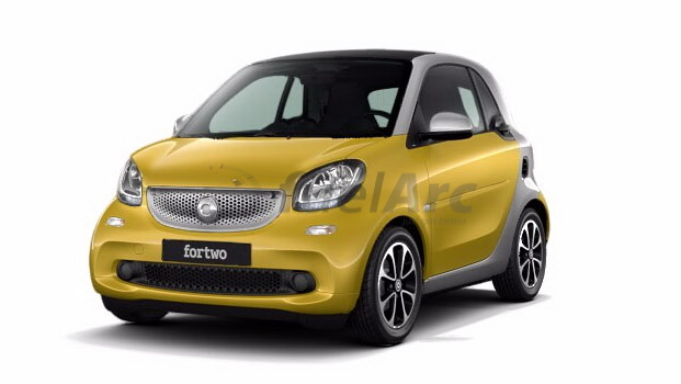 Smart Fortwo Prime Coupe 360 Degree View