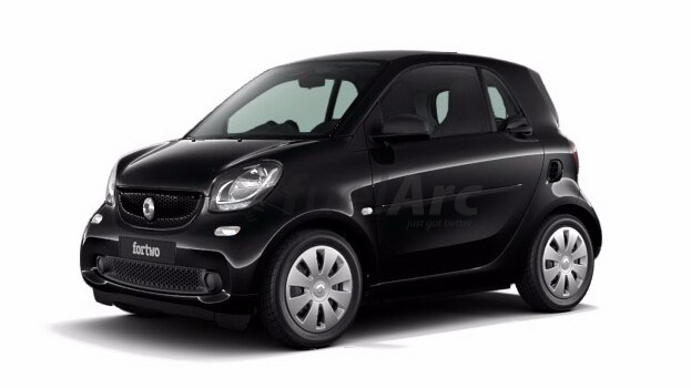 Smart Fortwo Pure Coupe 360 Degree View