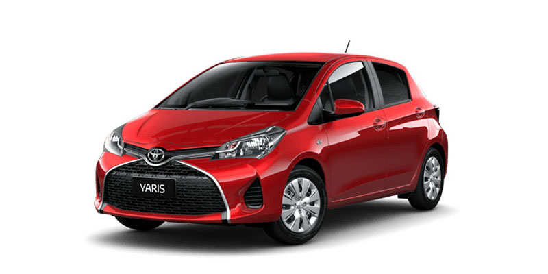 Toyota Yaris Ascent 2016 Available Colors