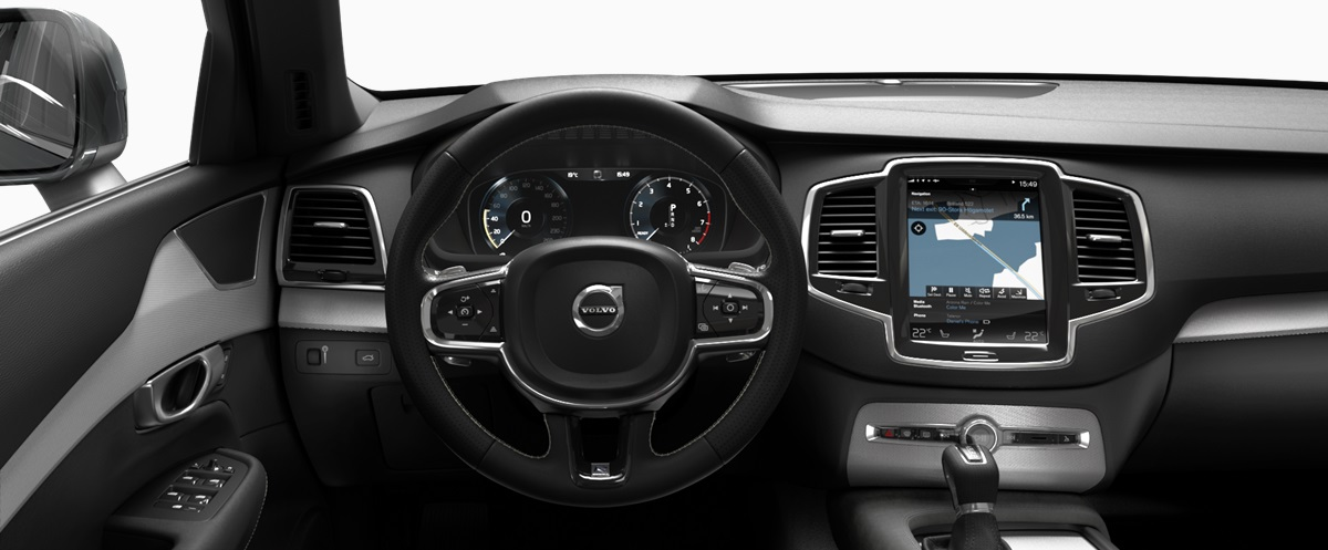 Volvo Xc90 T5 Fwd Inscription 2016 Interior Image Gallery Pictures Photos